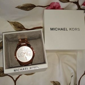 Michael Kors LOVE watch Brand New and in Box